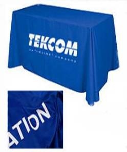 Imprinted Table Throw -BUSINESS GIFTS