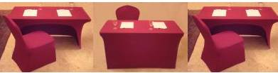 LYCRA SPANDEX TABLE COVERS- BUSINESS GIFT