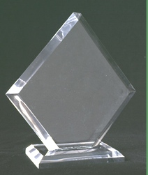 promotional gifts-Pentagon Acrylic Corporate Awards