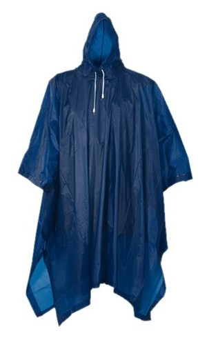 Bicycle poncho -promotional gift